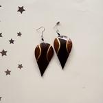 coconut shell Maasai earring
