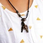 Girraffe Pendant Necklace