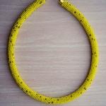 African Maasai beaded tribal Necklace