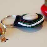 Maasai beaded key chain