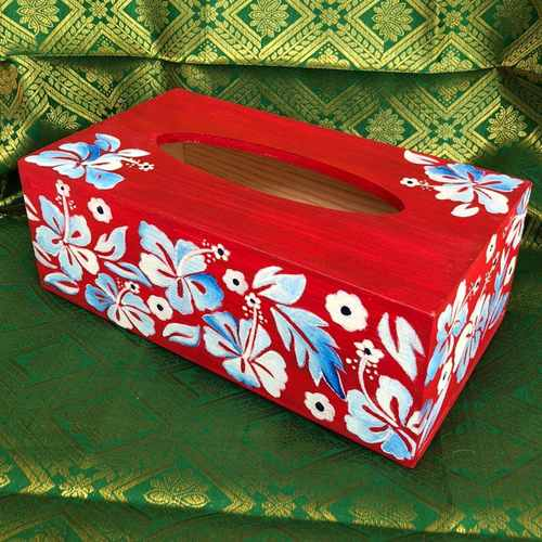 Red Tissue Box