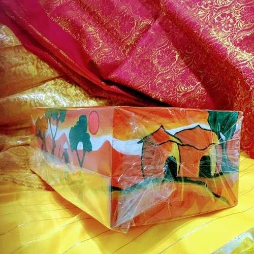 Tissue Box Orange