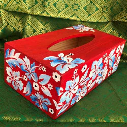 Red Tissue Box