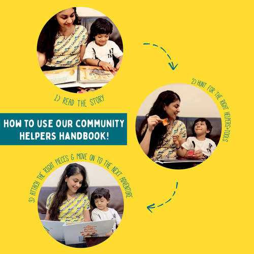 The Community Helpers Handbook - A story based, interactive, help-me-out adventure
