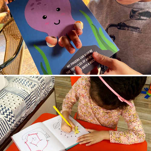 From Books to Boards An Interactive Early-Age Combo