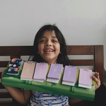 The Spelling Flipbook - Spell 3-4-5 letter words by going through this adorable adventure
