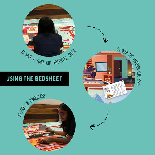 The Mystery Bedsheet - An Open-Ended, Spot-Connect-Solve Collection of 11 Mysteries
