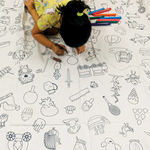 The Spotted Bedsheet - the perfect tool to keep those lil ones engaged for hours on end