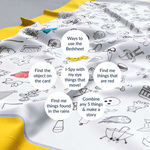 The Spotted Bedsheet - A colourable, washable & storytelling bedsheet
