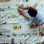 The Ramayan Playmat - A giant, interactive playmat that brings this great Indian epic to life