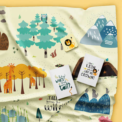 Tales from the Wild - An Interactive, Story-led, Jungle-themed Activity Mat