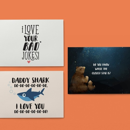 Personalised Fathers Day Cards