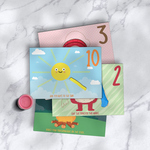 Playdough Mats - Numbers (1-10)