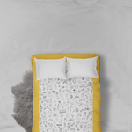 The Spotted Bedsheet - a doodle-filled, colourable, washable & story filled bedsheet