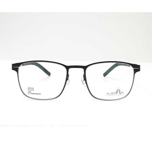 N STAR eyewear AR303 Black-Silver color