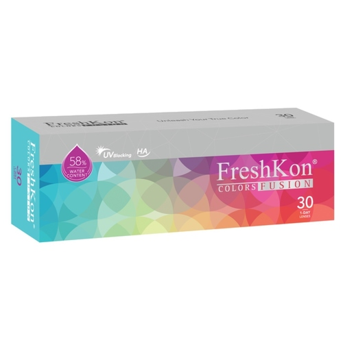 Freshkon Colors Fusion 1 day daily disposable