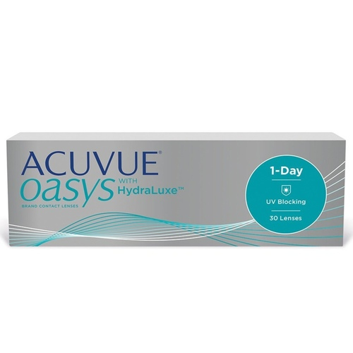 1 Day Acuvue Oasys daily disposable contact lenses