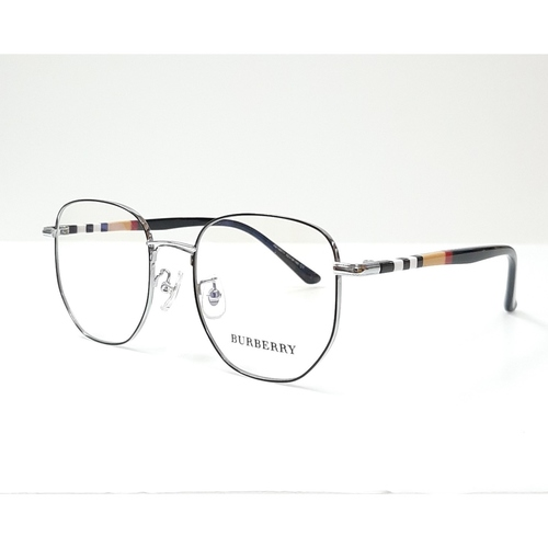 BURBERRY spectacle frame 98711 Black - Silver color
