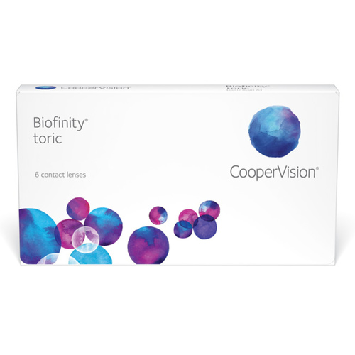 Biofinity Toric monthly contact lenses
