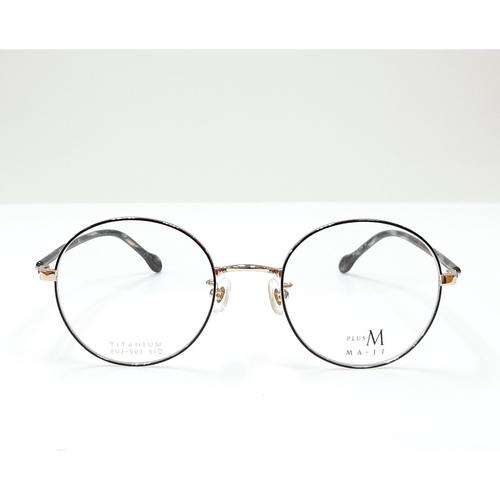 MA JI eyewear PMJ 507 Black-Gold color