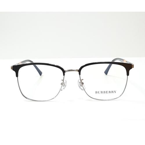 BURBERRY eyewear 98252 Black - Silver color