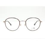 MA JI eyewear PMJ 506 Gold Bronze color