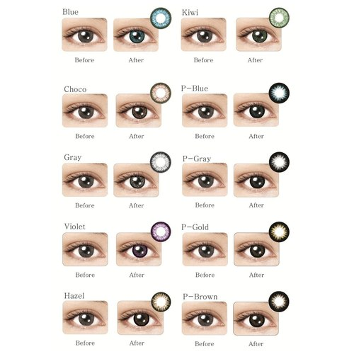 Maxim Monthly Color Disposable contact lenses blue box