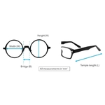 BURBERRY eyeglass 98711 Black - Silver color