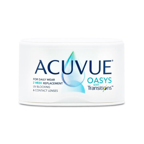 Acuvue Oasys with Transitions biweekly
