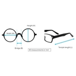 Prince Clip-On eyeglass PS100 Pink Gold Mercury