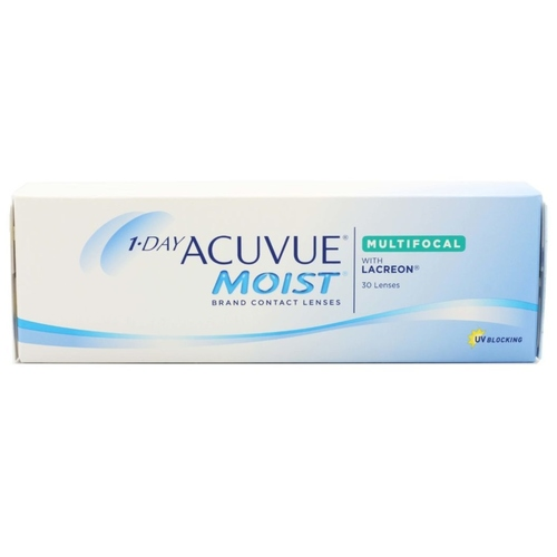 1 Day Acuvue Moist Multifocal daily disposable contact lenses