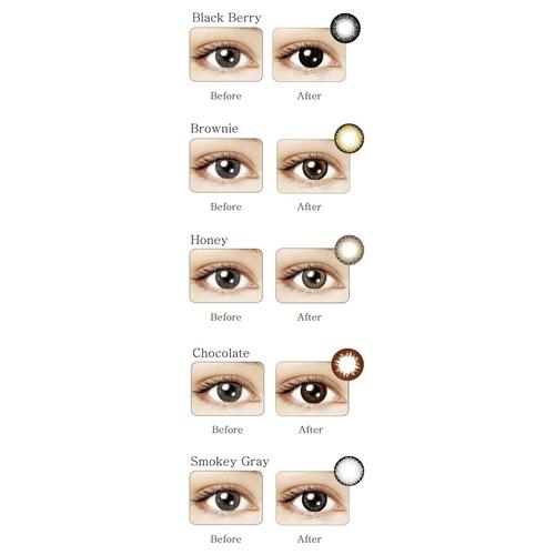 Maxim Daily Color Disposable contact lenses green box
