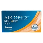 Air Optix Night & Day monthly disposable contact lenses