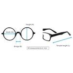N STAR eyeglass A217 Black-Silver color