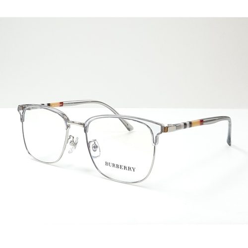 BURBERRY spectacle frame 98252 Grey - Silver color