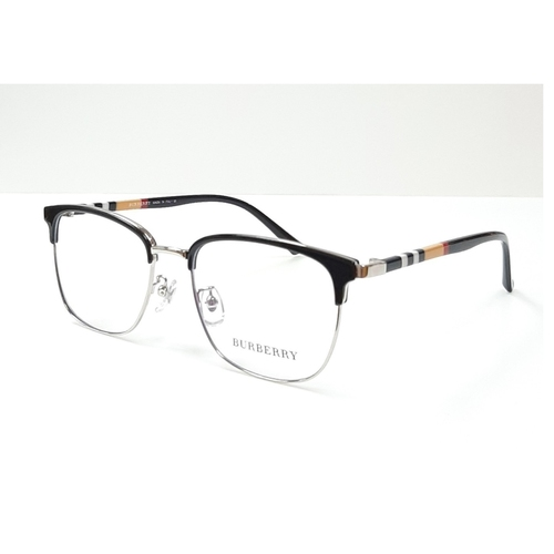 BURBERRY spectacle frame 98252 Black - Silver color
