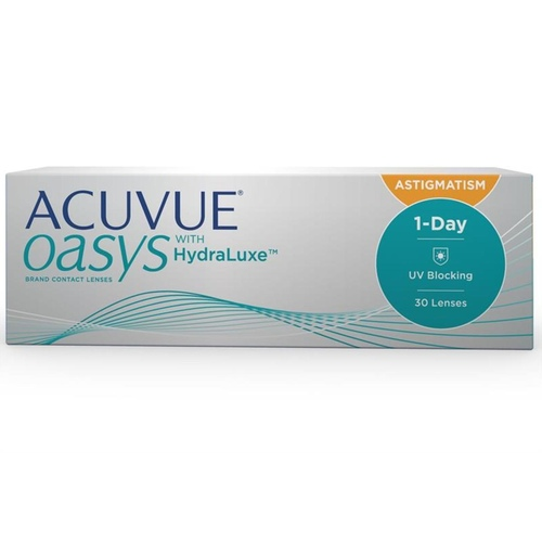 1 Day Acuvue Oasys for Astigmatism daily disposable contact lenses
