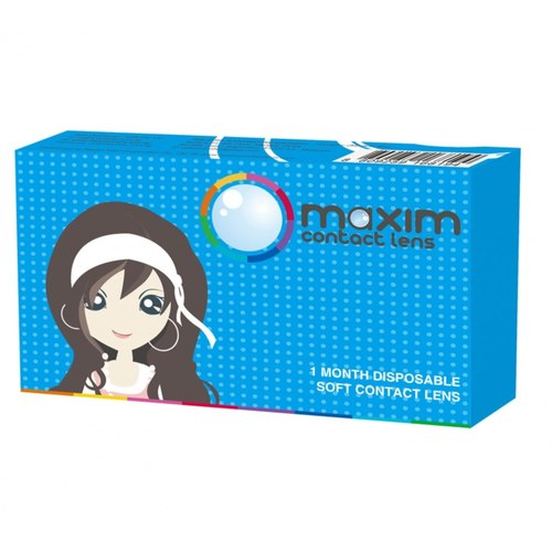 Maxim Monthly Color Disposable blue box