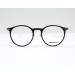 MontBlanc eyewear 0099O Black with Silver temples