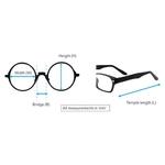 BURBERRY eyeglass 98252 Black - Silver color
