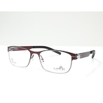 N STAR spectacle frame A217 Wine color