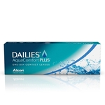 Dailies AquaComfort Plus disposable contact lenses
