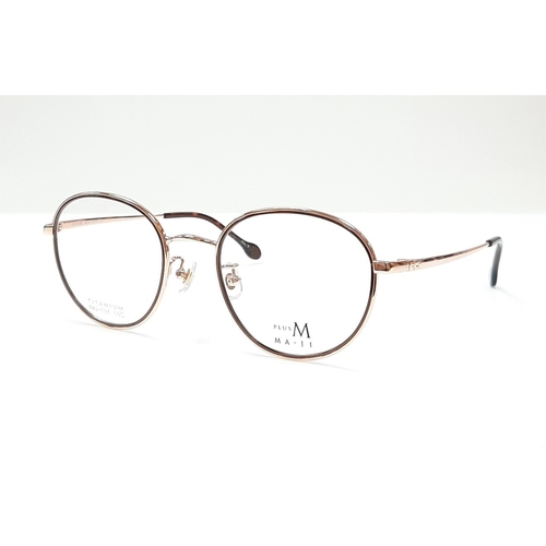 MA JI spectacle frame PMJ 506 Gold Bronze color