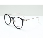 MontBlanc spectacle frame 0099O Black with Gold temples