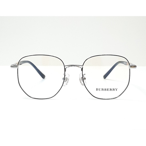 BURBERRY eyewear 98711 Black - Silver color