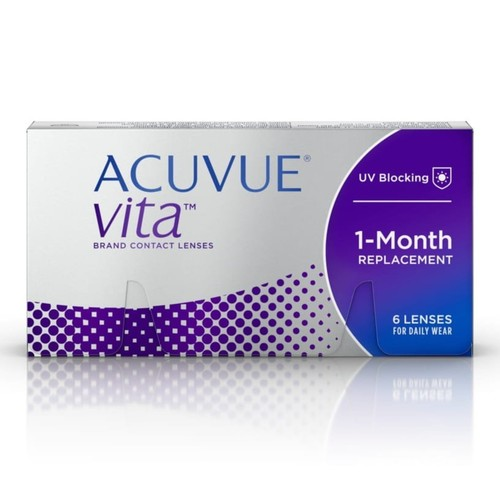 Acuvue Vita monthly disposable contact lenses