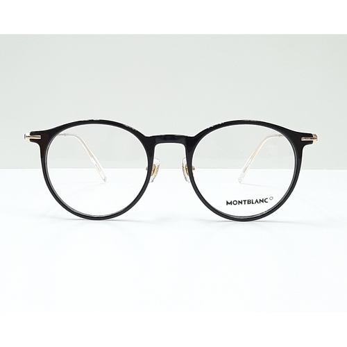 MontBlanc eyewear 0099O Black with Gold temples