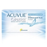Acuvue Oasys for Astigmatism biweekly disposable contact lenses