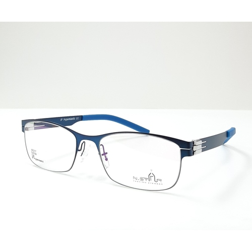 N STAR spectacle frame A217 Blue color