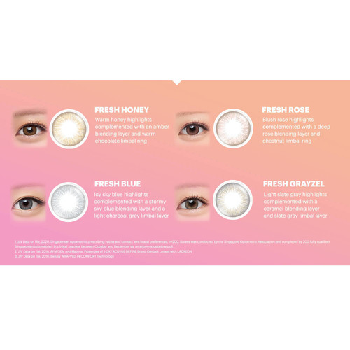 1 Day Acuvue Define Fresh contact lens
